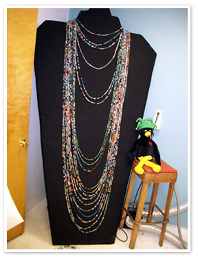 The Worlds Longest Beaded Necklace